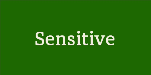 Sensitive (Light)